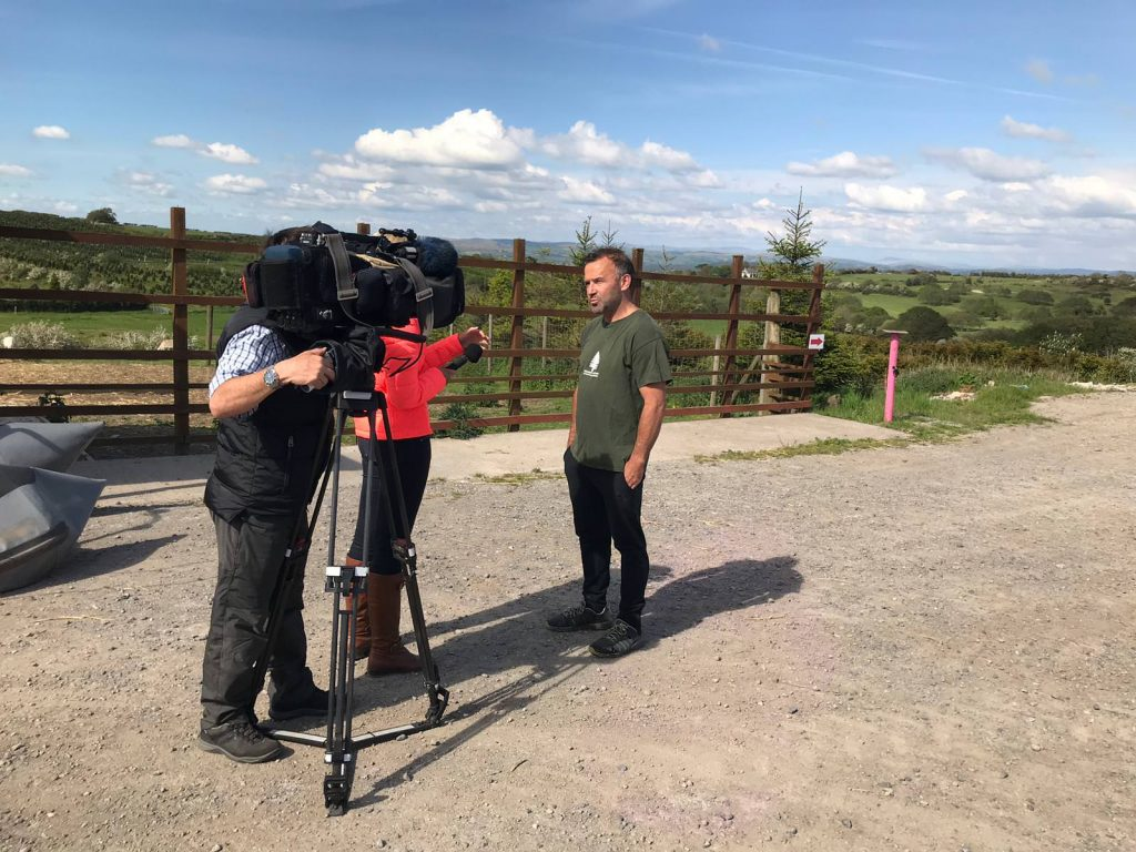 Rob interviewed by iTV Wales