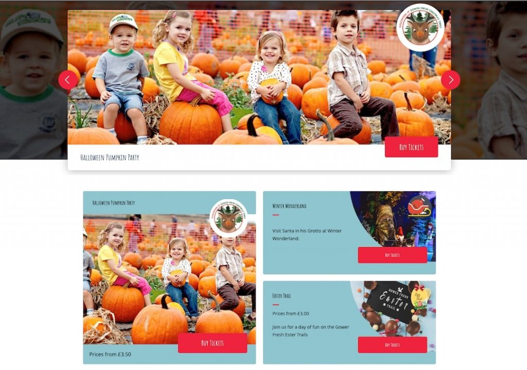 Gower Pumpkins and Christmas Trees tickets
